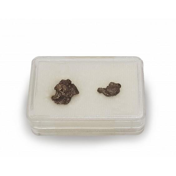 Μετεωρίτης (δύο τεμάχια) από την περιοχή Campo del Cielo