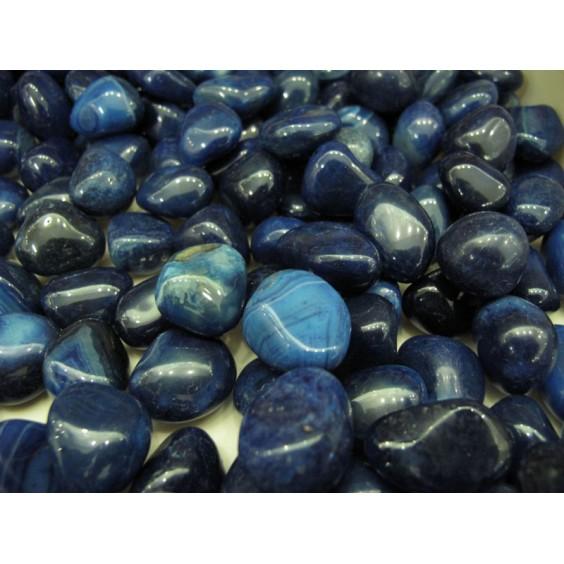 Μπλε Αχάτης βοτσαλάκι