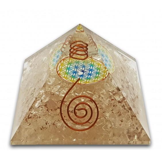 Πυραμίδα-οργονίτης χαλαζία, μεγάλο μέγεθος