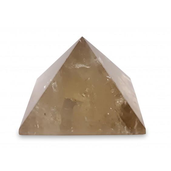 Πυραμίδα φυσικού κιτρίνη